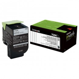 Lexmark toner 70C80K0 Black 1k