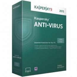 Kaspersky Antivirus 2015 1+1 gratis, 1 godina obnova, 8 mjeseci