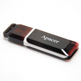 Apacer USB stick 8GB AH321 black/red
