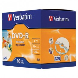 Verbatim DVD-R 10/1 JC P (43521), Printable