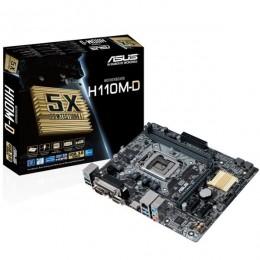 Asus MB H110M-D, LGA 1151, Intel H110