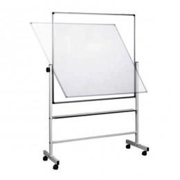 Tabla bijela piši-briši mobilna na točkovima,dvostrana 150*100 cm (tab+stalak)