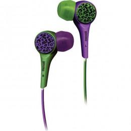 Maxell Wild Buds slušalice zelene - ljubičaste