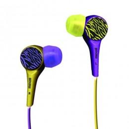 Maxell Wild Buds slušalice ljubičaste-žute