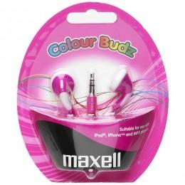 Maxell Stereo slušalice roze