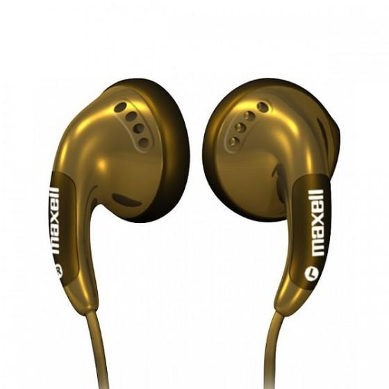 Maxell Stereo slušalice zlatne