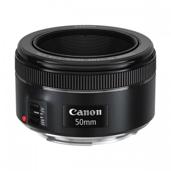 Canon objektiv EF 50mm f/1.8 STM