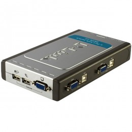 D-Link DKVM-4U KVM 4 port switch USB