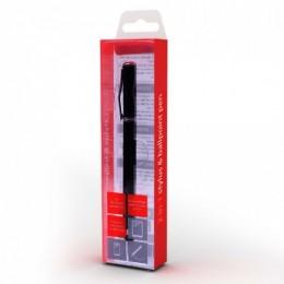 Gembird olovka za touchscreen/hemijska olovka 2u1, crna