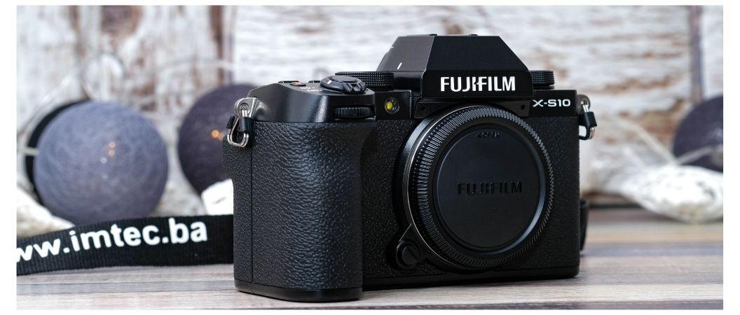 FOTOAPARAT FUJIFILM X-S10: KREATIVNOST BEZ GRANICE