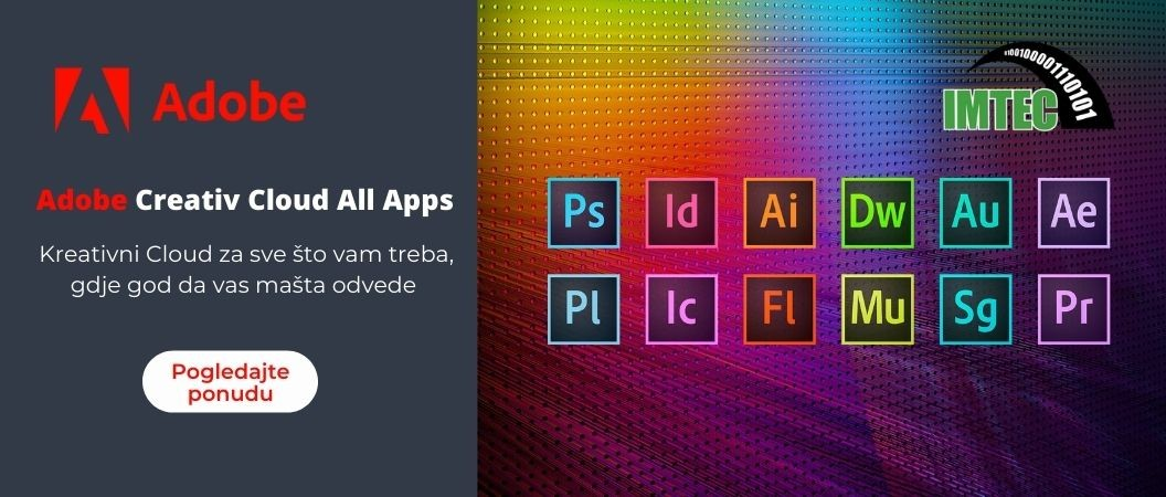 Adobe Kreativni Cloud za sve što vam treba